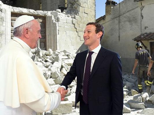 Der Facebook-Gründer zeigt sich großzügig