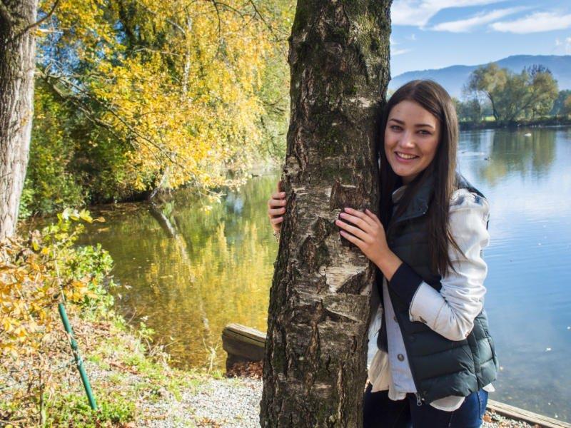 Der Herbst bietet Zeit, die schöne Natur zu genießen.