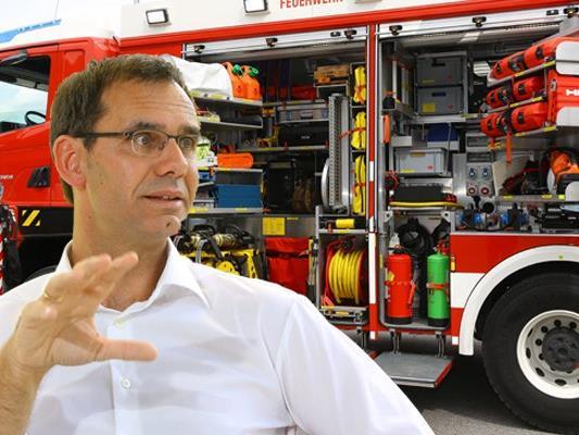 Das Land Vorarlberg gibt zirka 577.000 Euro für die Anschaffung neuer Feuerwehrfahrzeuge frei.