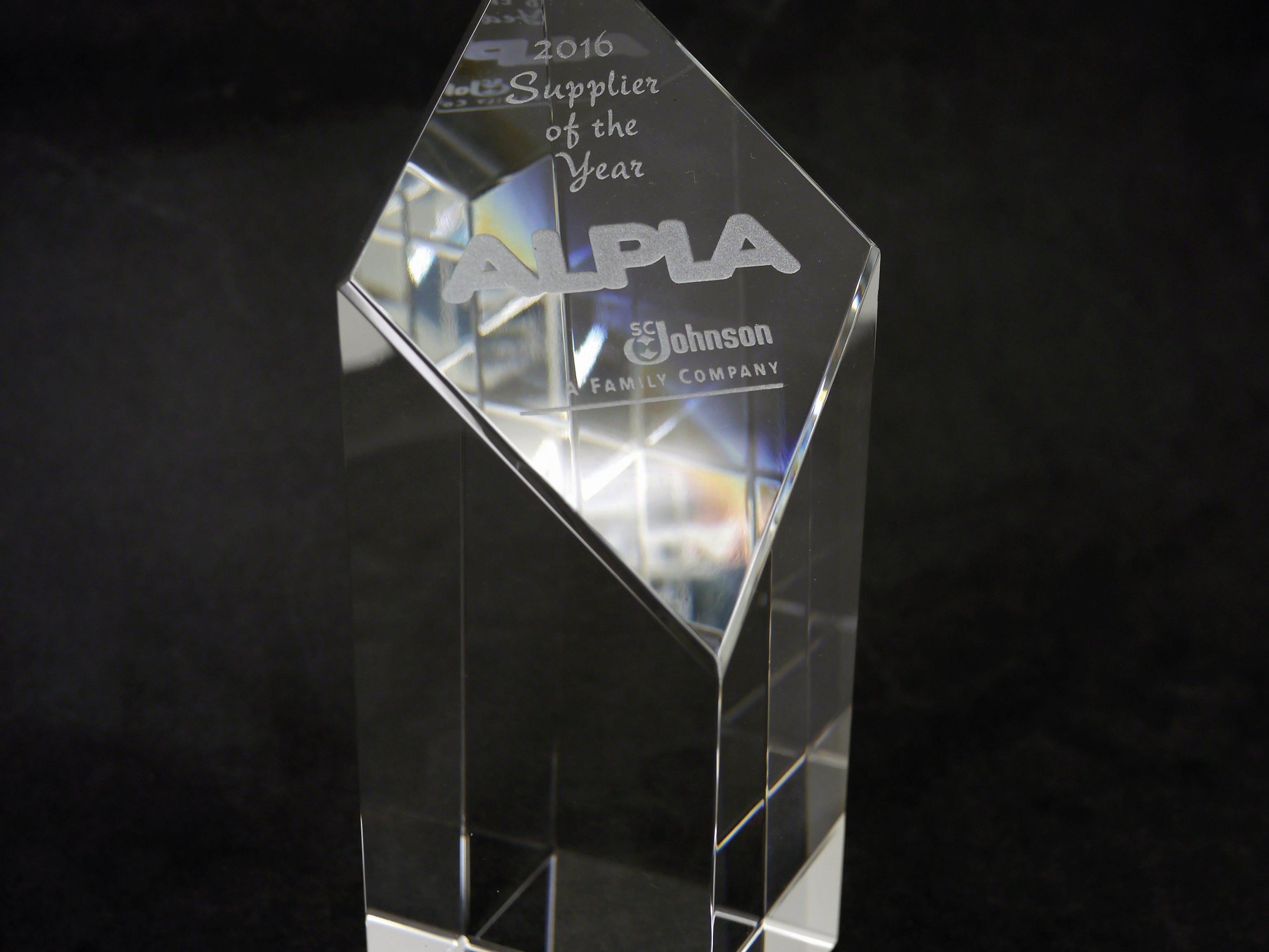 ALPLA erhält den Overall Supplier Excellence Award 2016