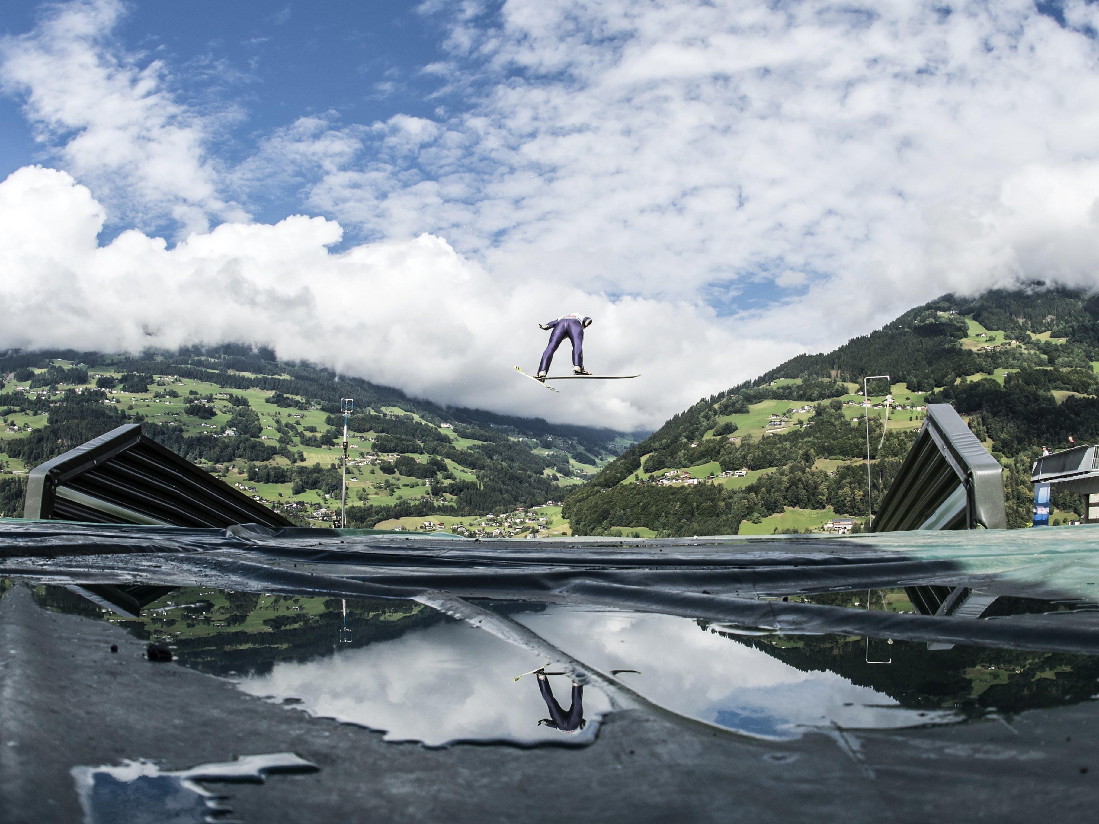 Skispringen im Montafon