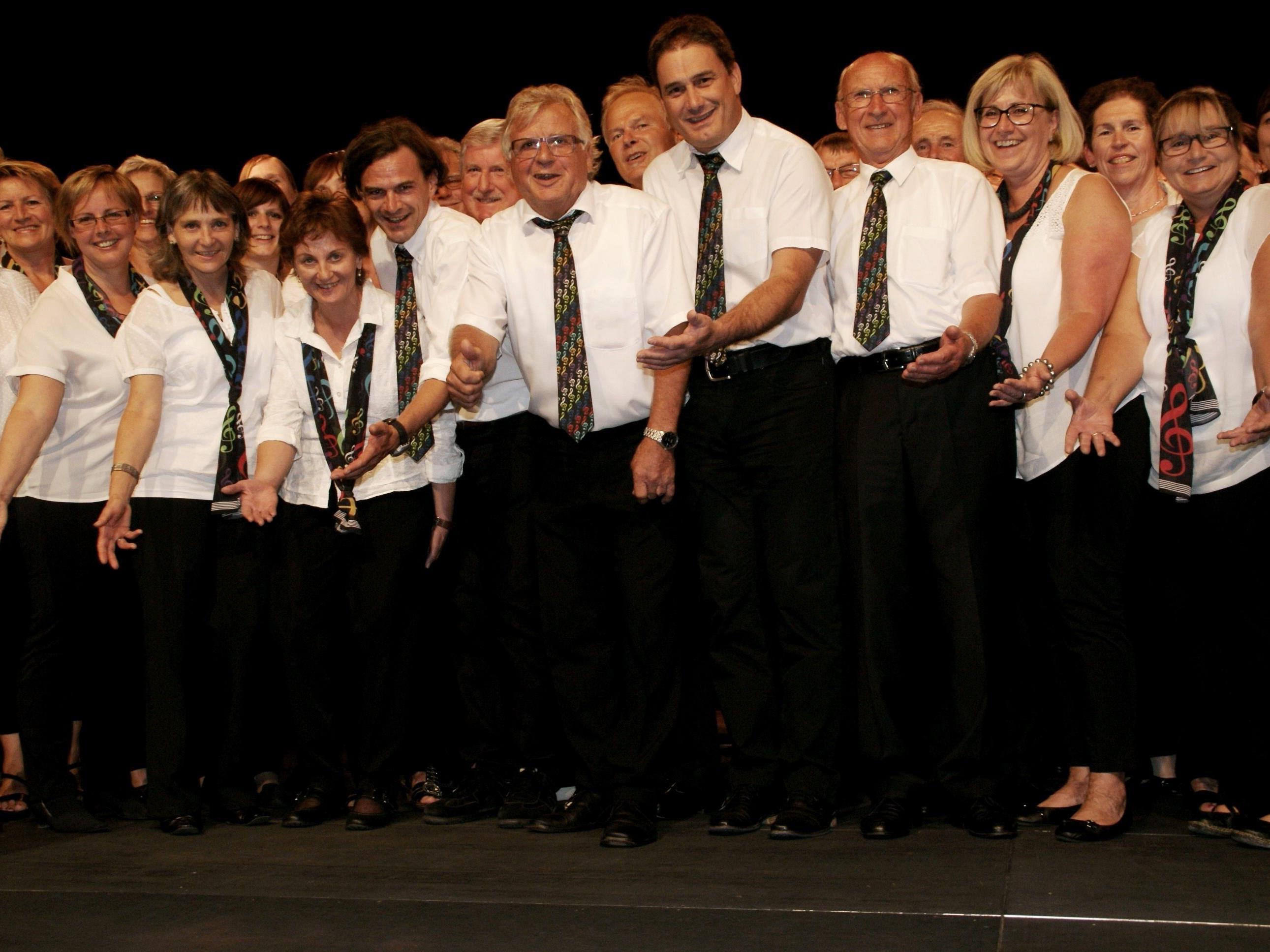 Eintracht-Chor feierte ausgelassen im Freudenhaus