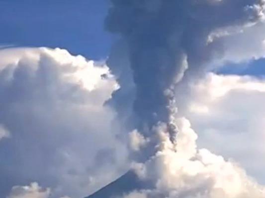Vulkanausbruch in Mexiko