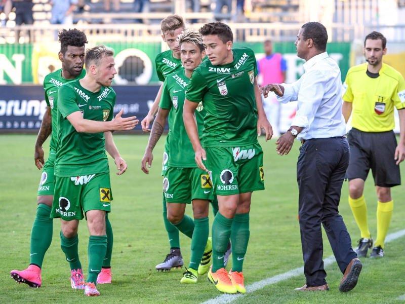 Erstes Auswärtsmatch in dieser Saison für Austria Lustenau