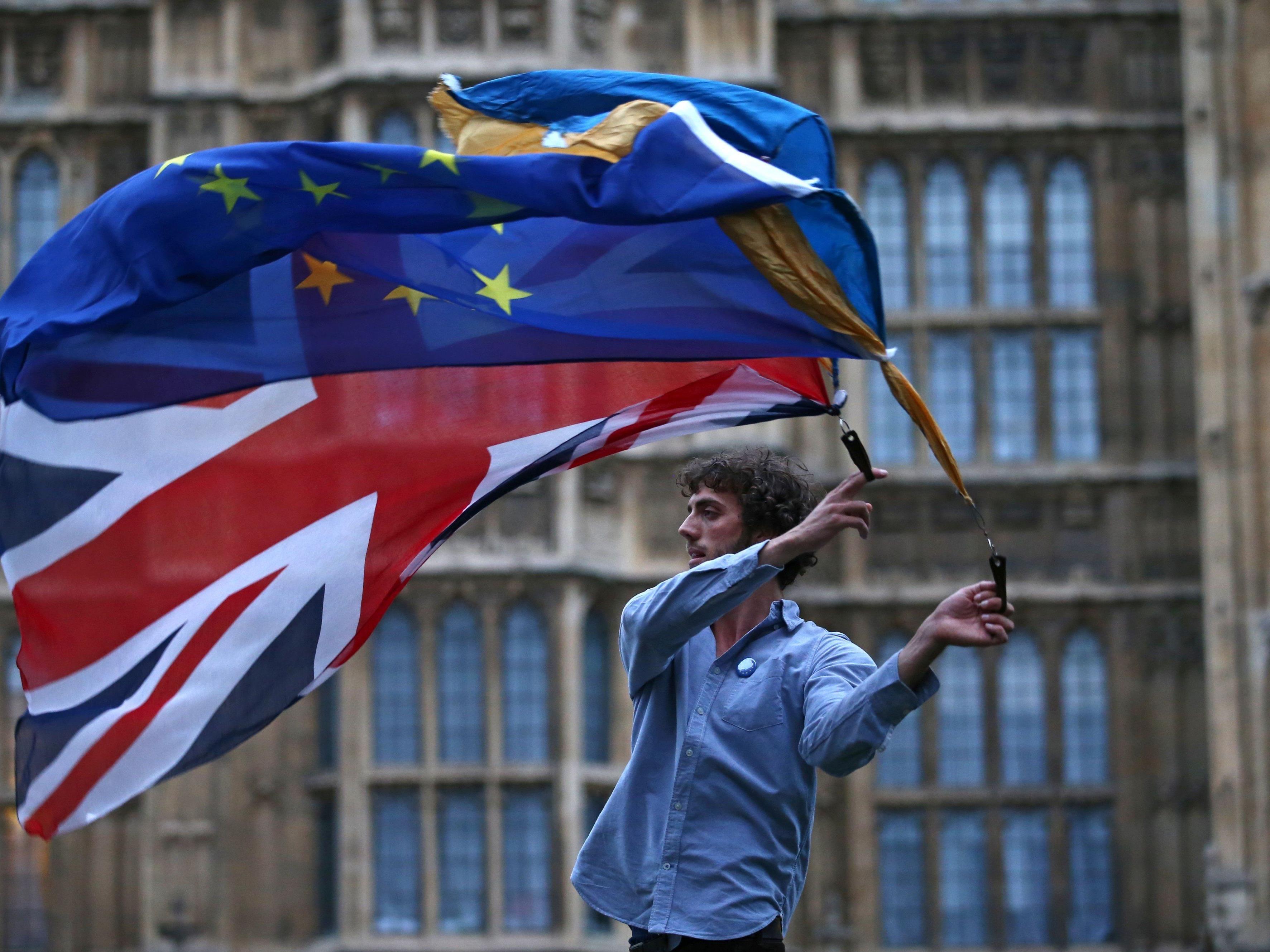 Nach dem Brexit sind viele Briten verunsichert.