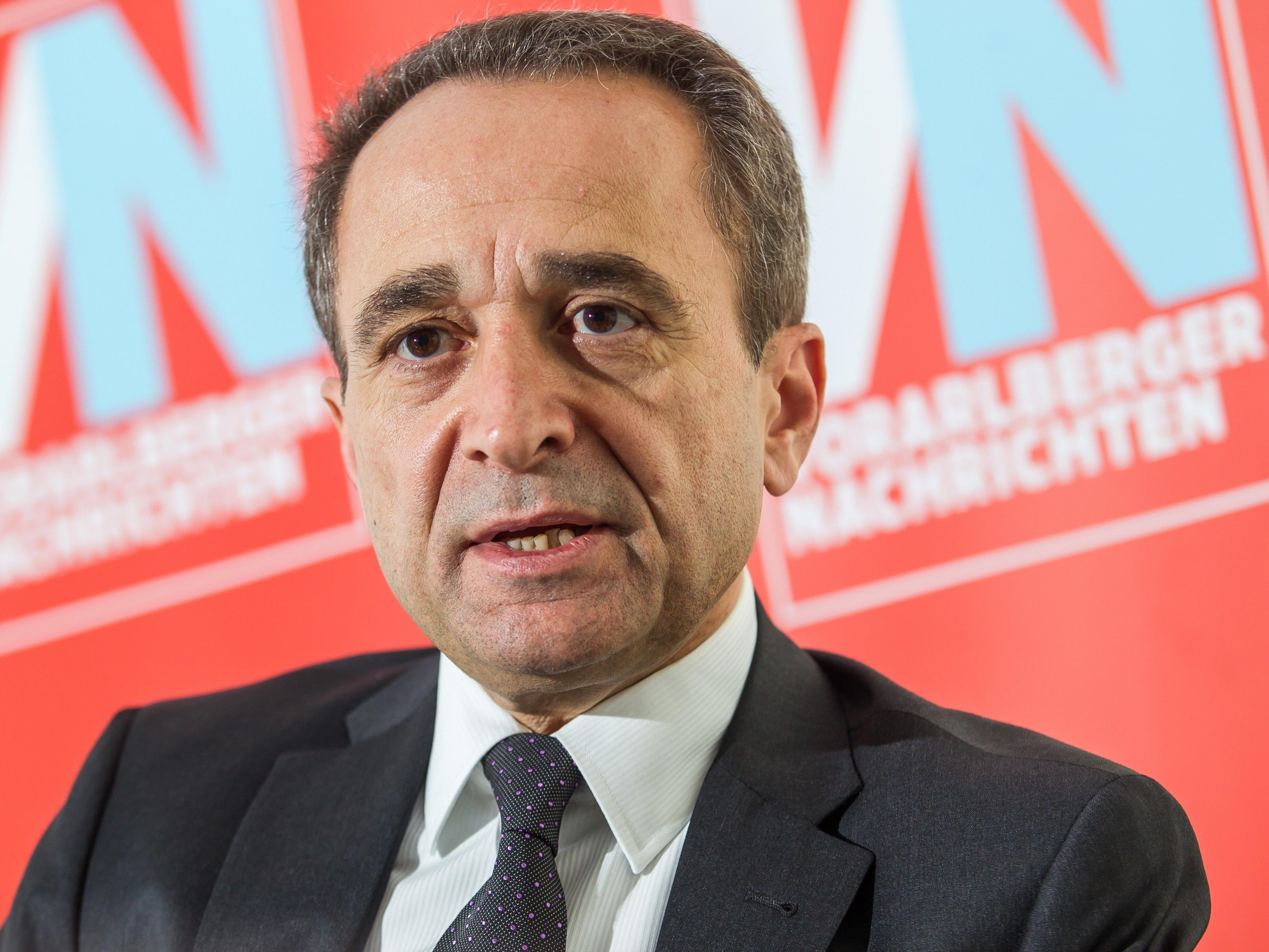 Cemal Erbay ist türkischer Konsul in Vorarlberg.
