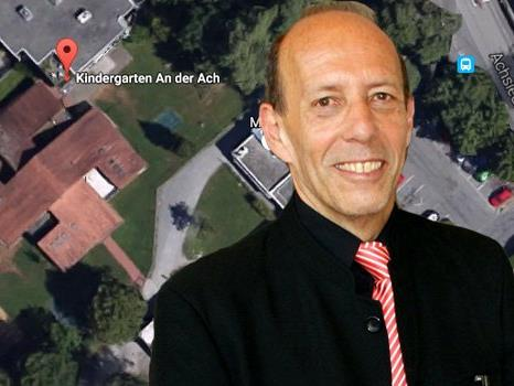 Neue Diskussion um die Hakenkreuz-Form des Kindergartens.