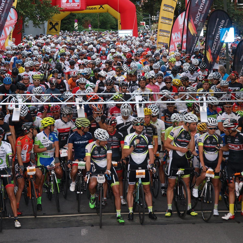 1300 Starter sind beim Highlander Radmarathon mit dabei