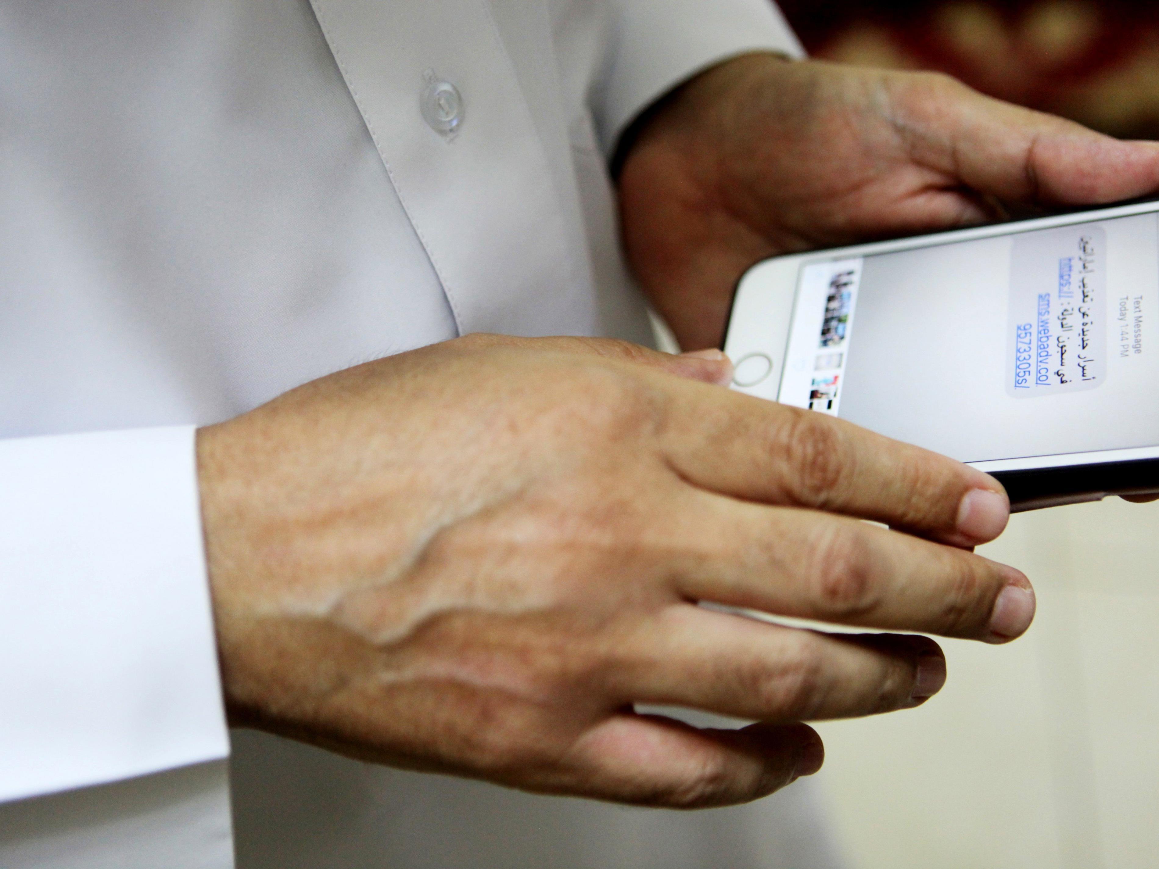 """Die Schadsoftware """"Pegasus"""" machte sich drei bisher unbekannte Sicherheitslücken zu Nutze und bedrohte Millionen iPhones. Ein Update von Apple soll die Lücken am Freitag geschlossen haben."""