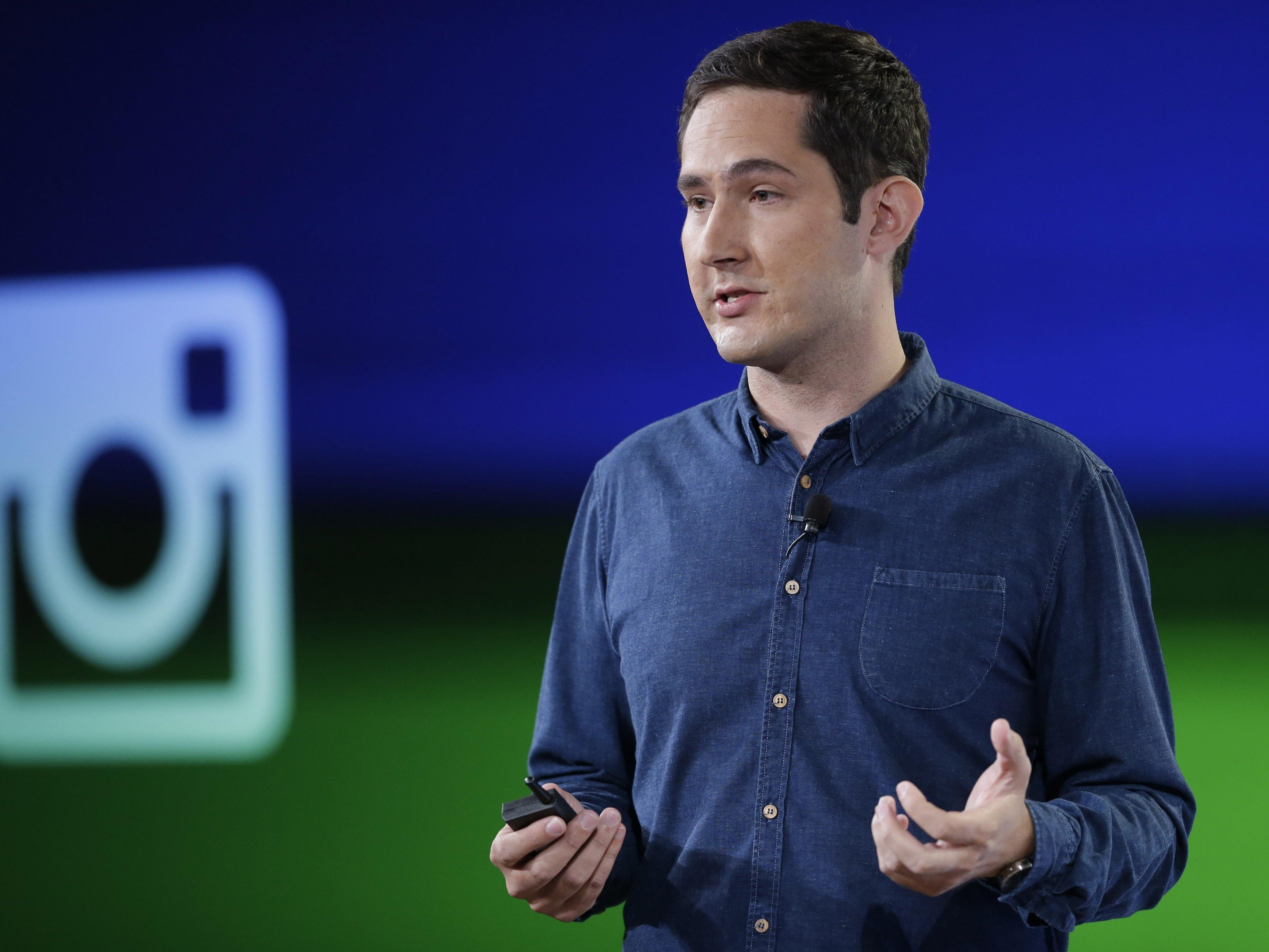Instagram-Chef Kevin Systrom bedankte sich bei Snapchat.