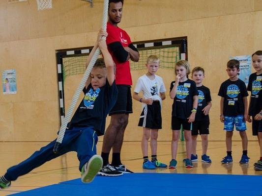 Mit einem Teilnehmerrekord von 2.600 Kindern endete vergangene Woche das Abenteuer Sportcamp, das als großes Vorarlberger Kindersportfestival über 1.000 verschiedene Programmpunkte anbietet.