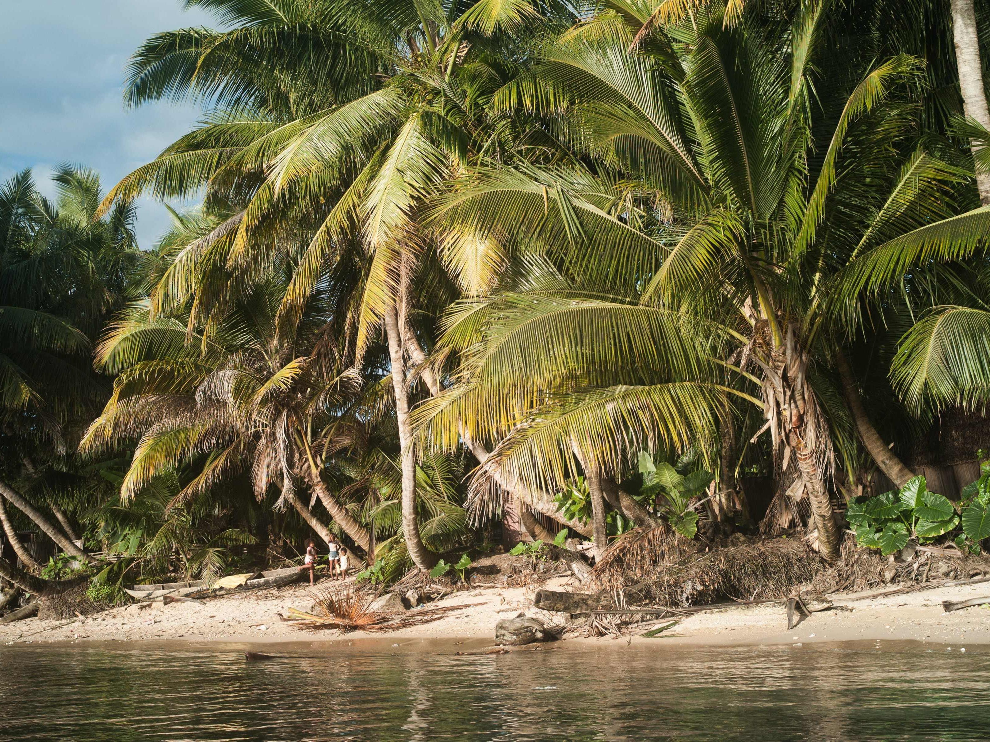 An diesem Strand auf Madagaskar wurden die zwei Leichen gefunden.