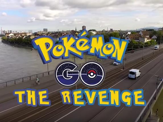 Die Pokémons üben Rache.