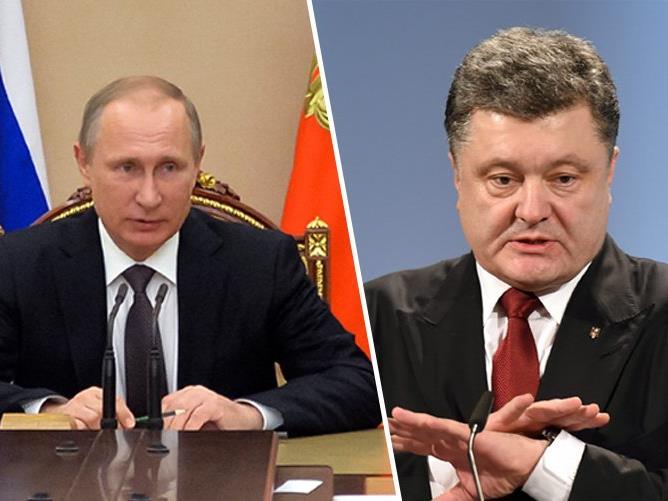 Der ukrainische Präsident Petro Poroschenko hat die Soldaten an der faktischen Grenze zu der von Russland annektierten Schwarzmeerhalbinsel Krim in Kampfbereitschaft versetzt.