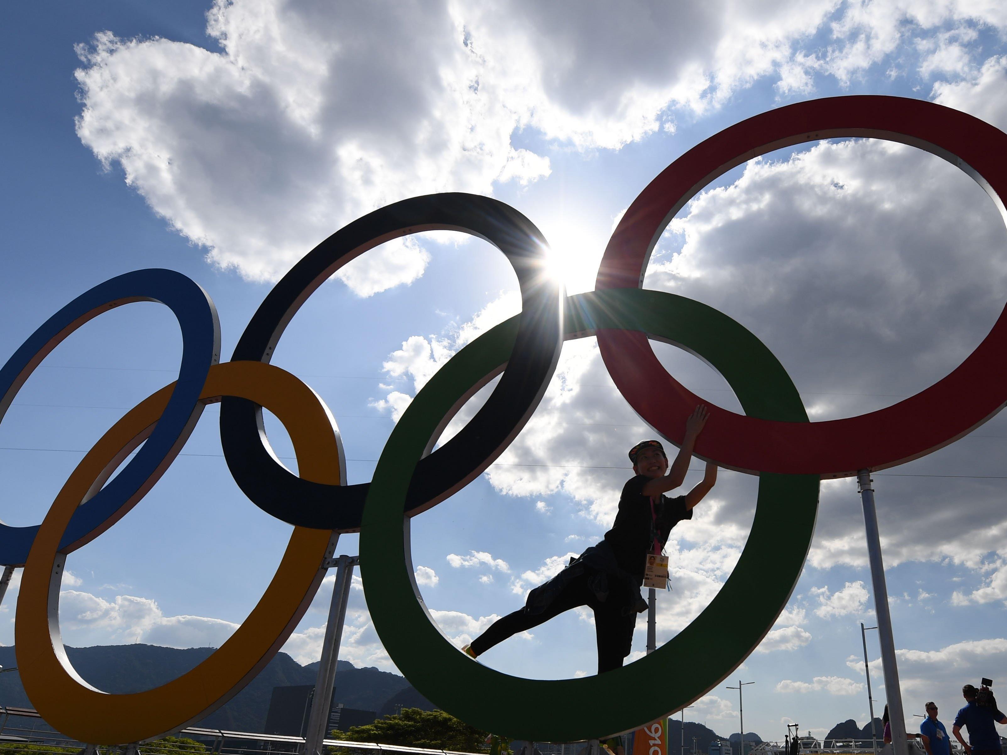 Bald beginnen die olympischen Spiele.