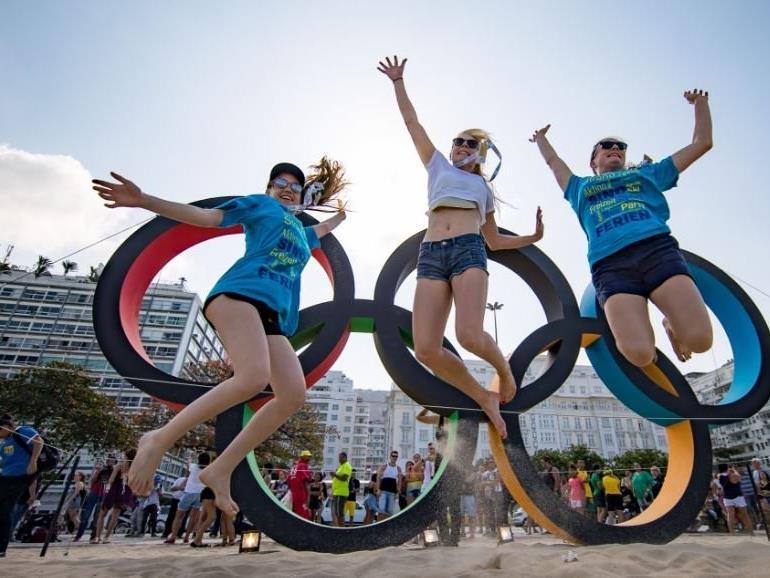 Sommerspiele in Rio de Janeiro.