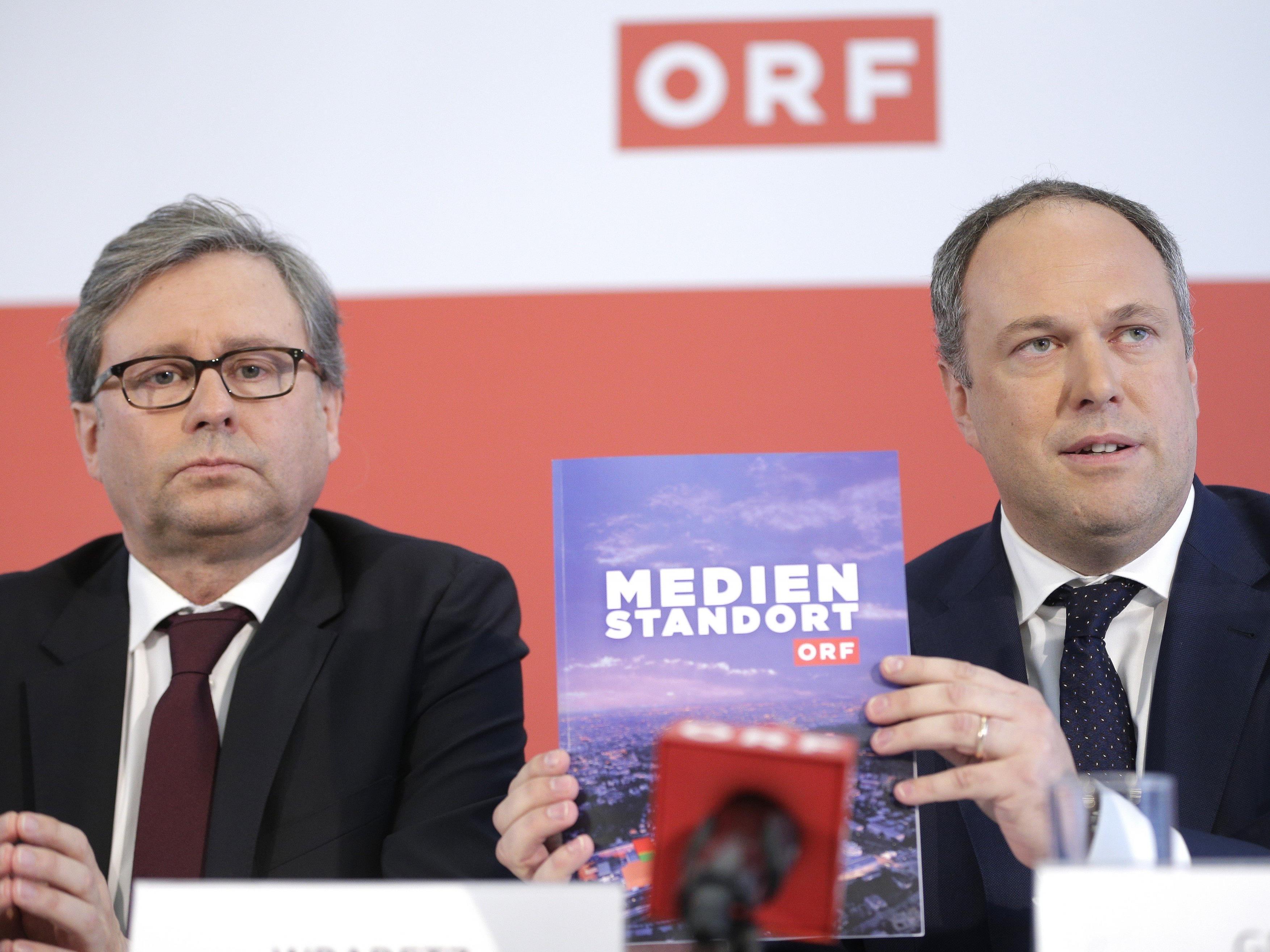 Alexander Wrabetz und Richard Grasl: Wer wird ORF-Chef?