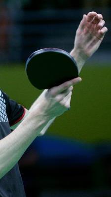 Österreichs Tischtennis-Herren sind in Hard gefordert.