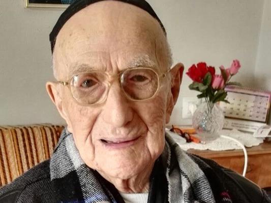 Israel Kristal ist der wohl älteste Mensch der Welt.