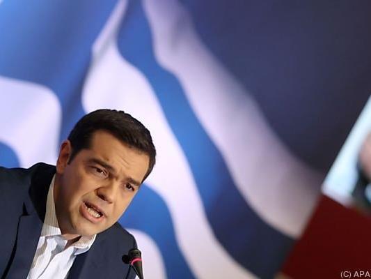 Tsipras pocht auf die Einhaltung der Vereinbarungen