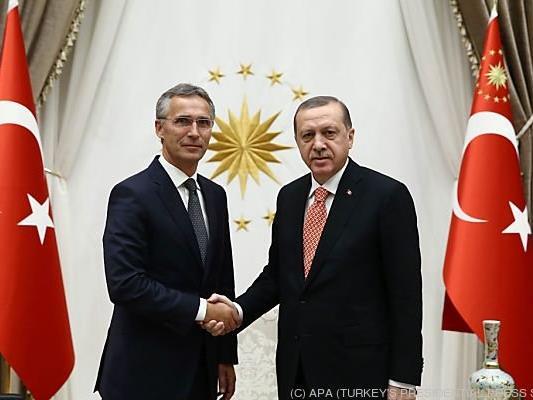 Stoltenberg landete bereits in Ankara