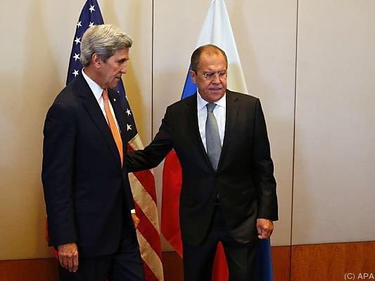 Kerry und Lawrow trafen sich in Genf