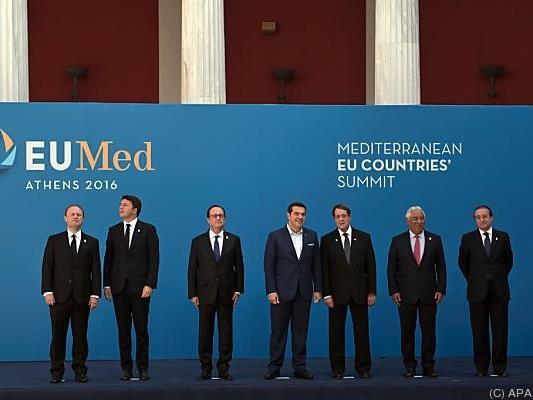 Regionalgipfel von sieben EU-Staaten in Athen