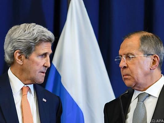 Kerry und Lawrow verhandeten in Genf