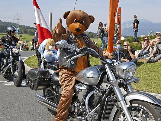 Harley-Davidson-Treffen in Kärnten