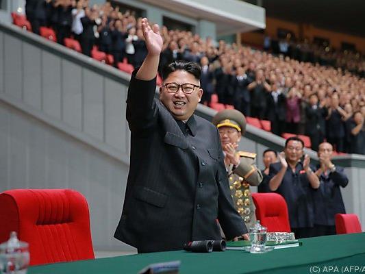 Der Diktator will Anerkennung