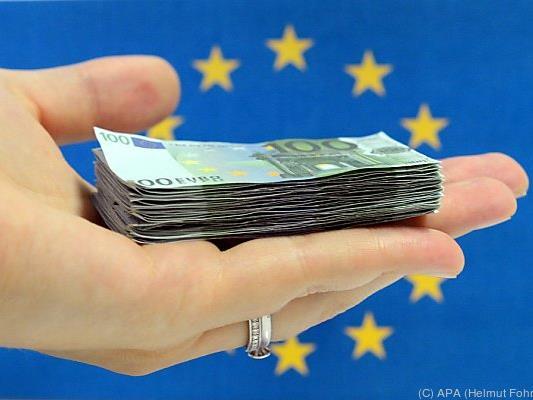 Größter Netto-Empfänger pro Einwohner ist Griechenland