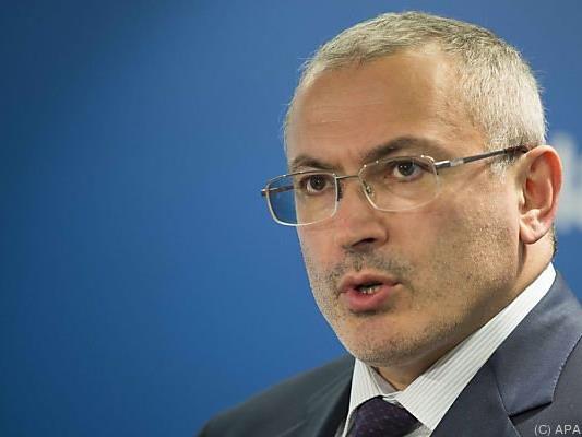 Michail Chodorkowski geht auf Konfrontation mit Putin