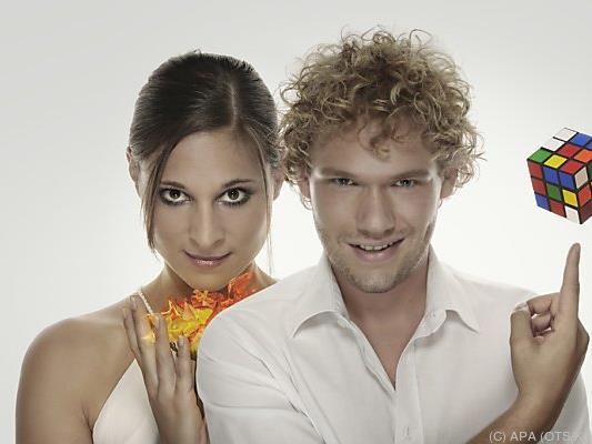Das Duo aus Niederösterreich ist bereits Weltmeister der Zauberkunst