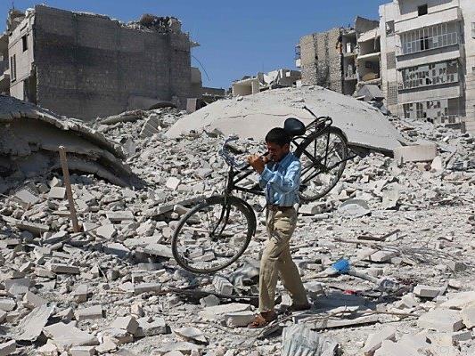Hilfe wäre in Aleppo dringend nötig