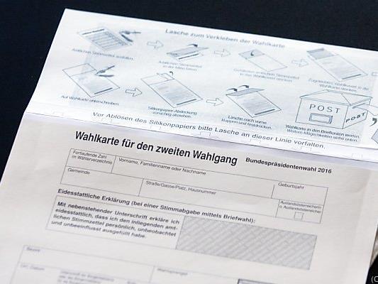 Wegen schadhafter Wahlkarten musste die Wahl verschoben werden