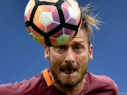 Totti wird in zwei Wochen 40