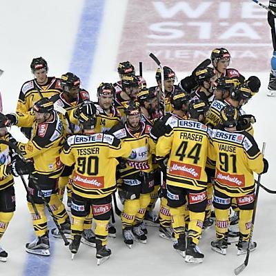 Die Capitals freuen sich über ihren Overtime-Sieg