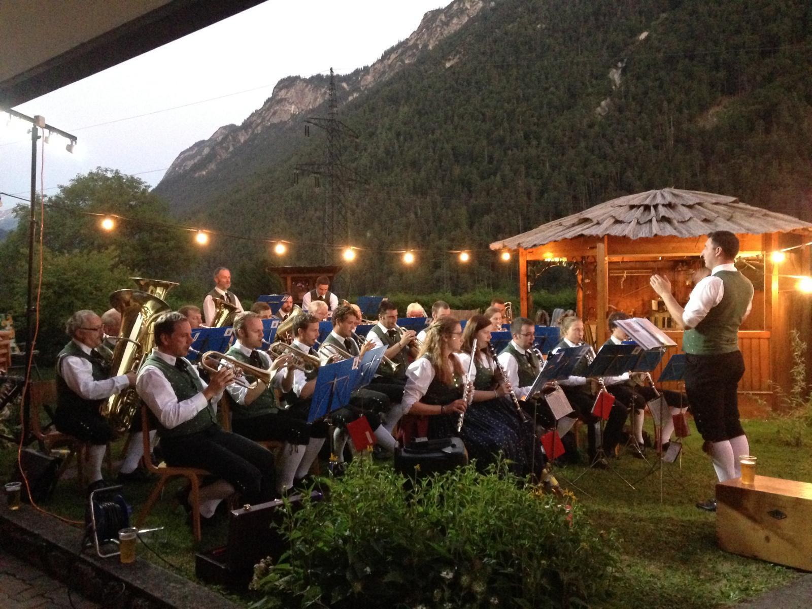 Die Musikanten freuen sich auf viele Besucher