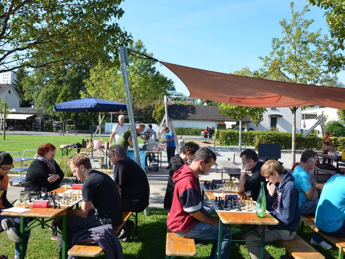 Schach im Park Mariahilf