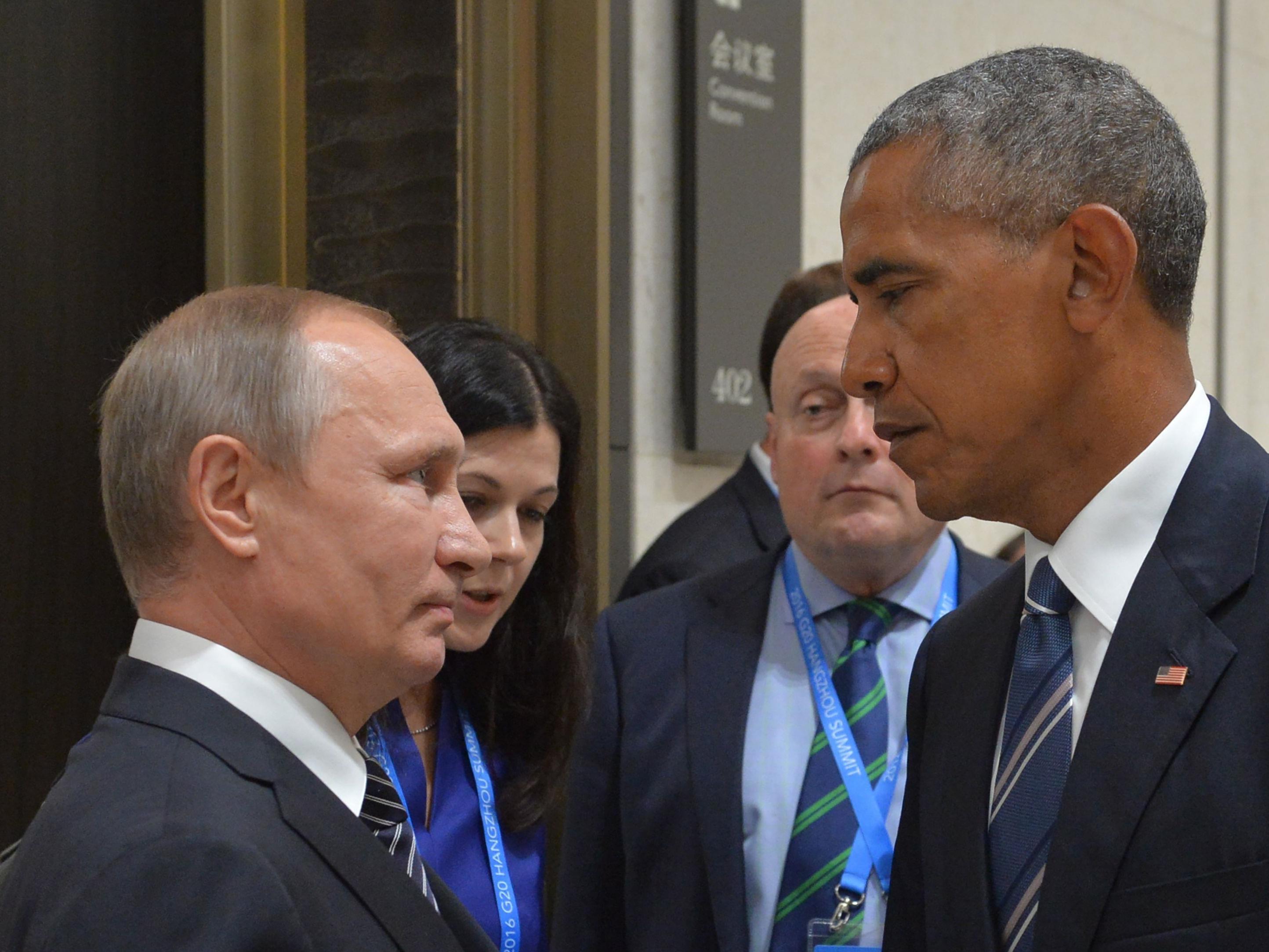 Erneut schwere diplomatische Krise zwischen Russland und den USA.