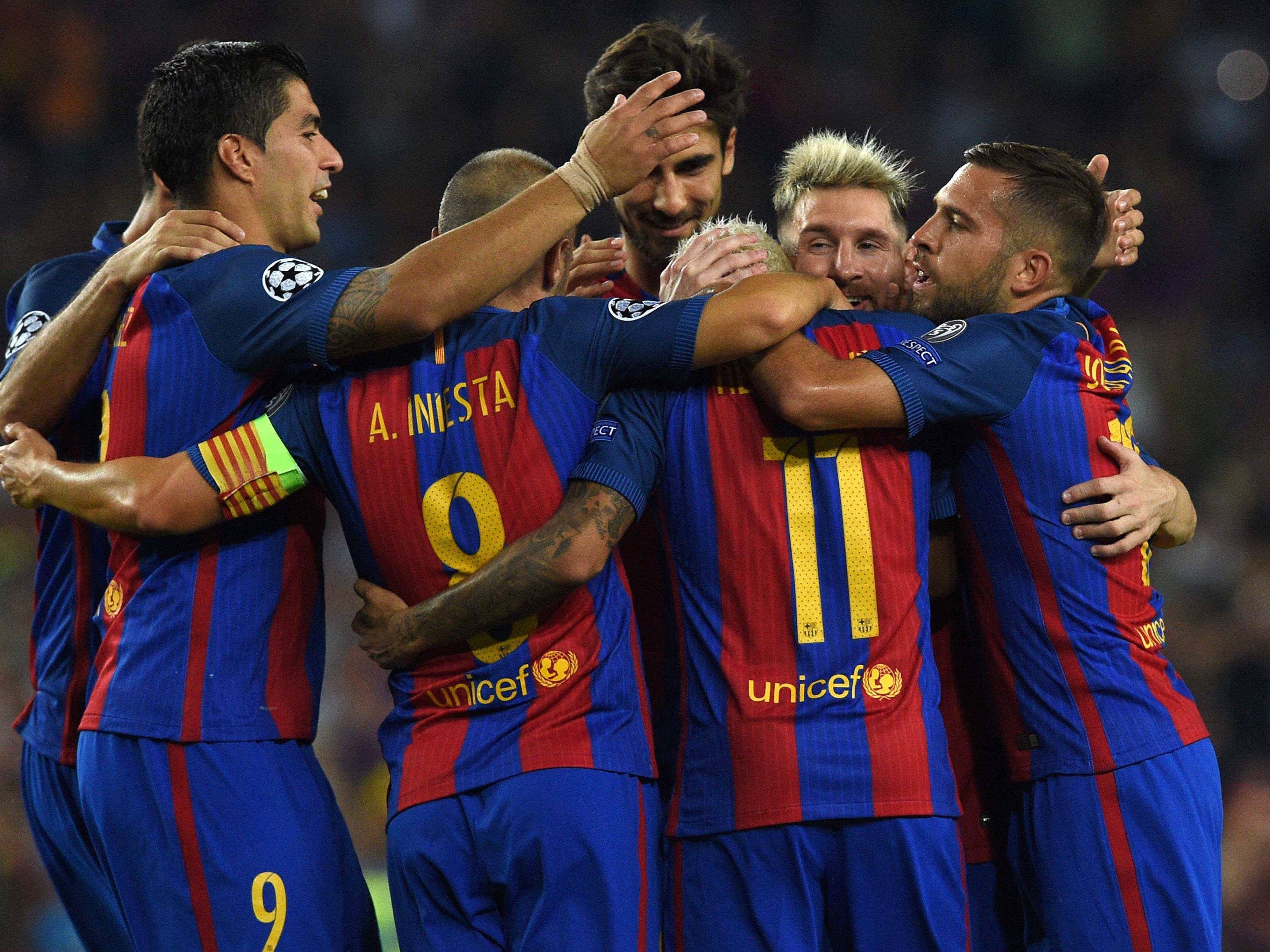 Der FC Barcelona feierte gegen Celtic ein Schützenfest.
