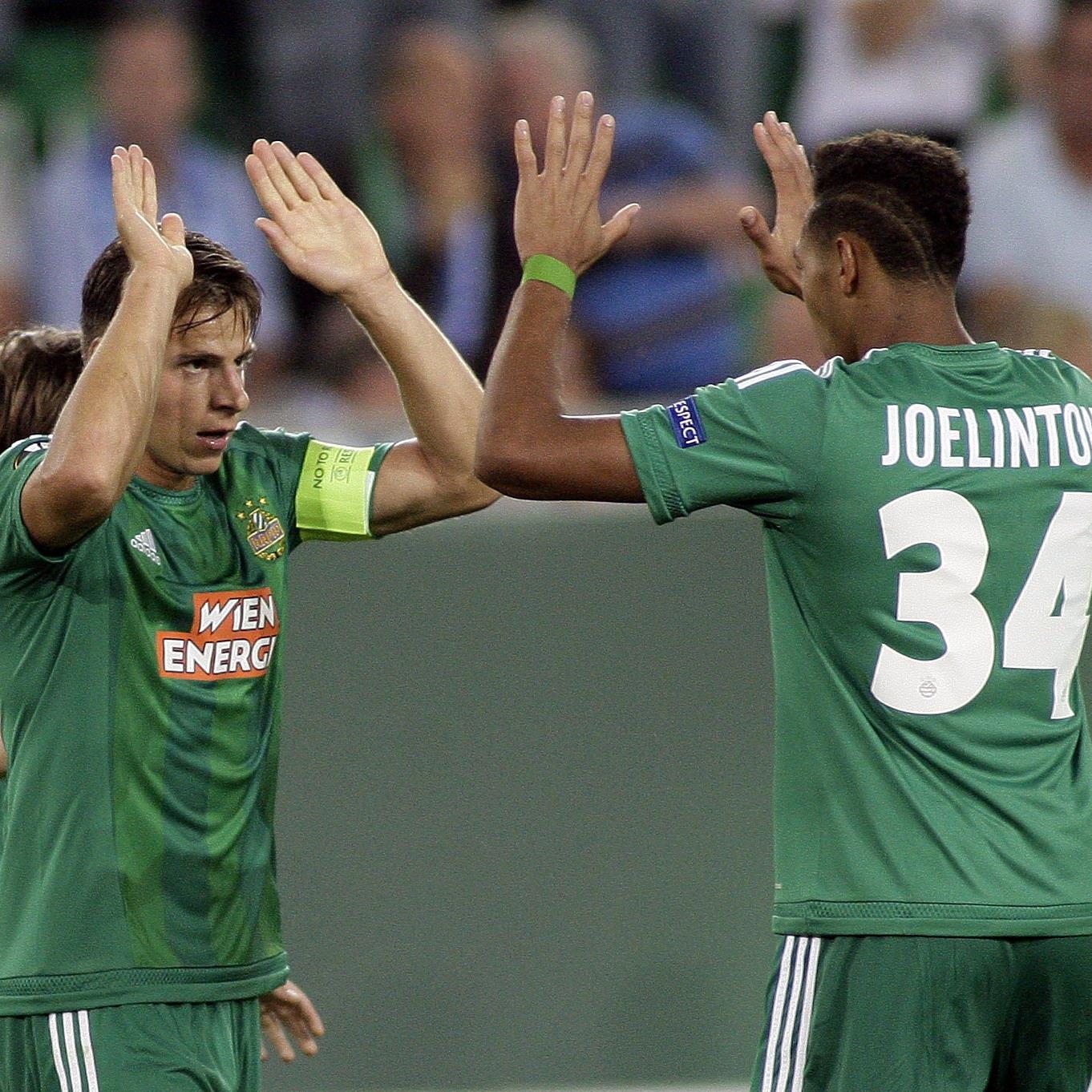 Schwab und Joelinton erzielten zwei der drei Rapid-Treffer.