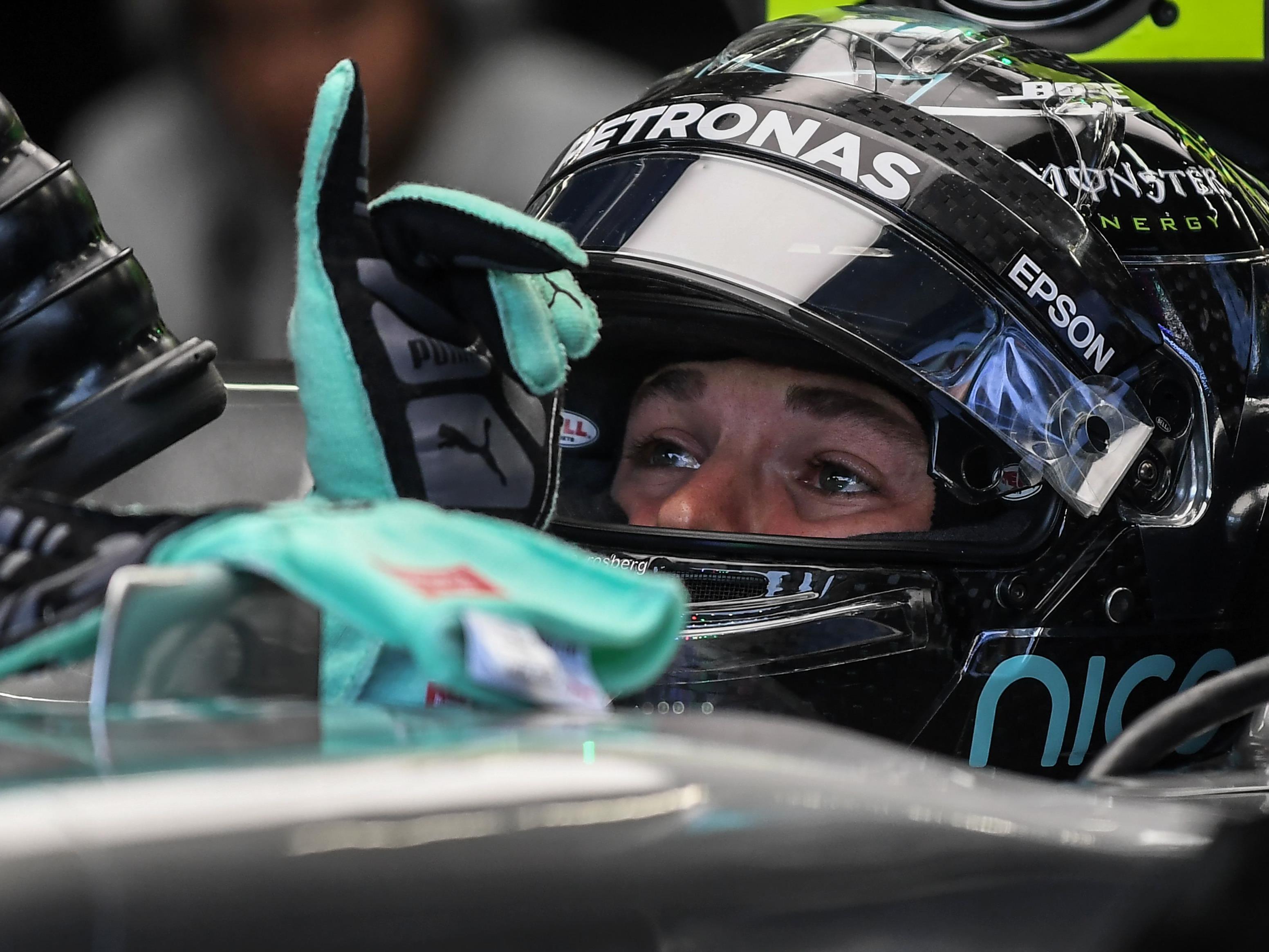 Rosberg mit perfekter Ausgangslage.