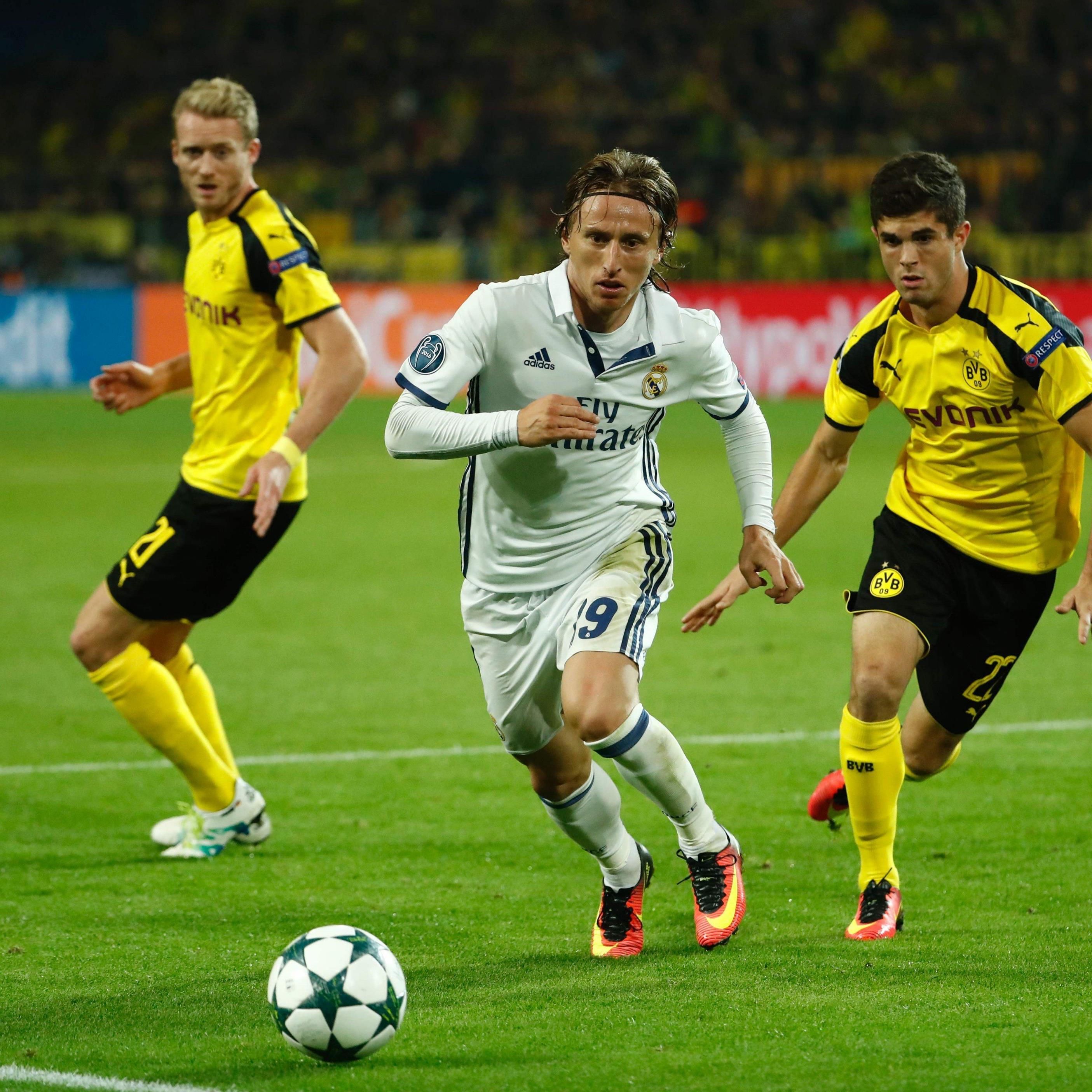 Dortmund und Real Madrid lieferten sich ein hochklassiges Duell.