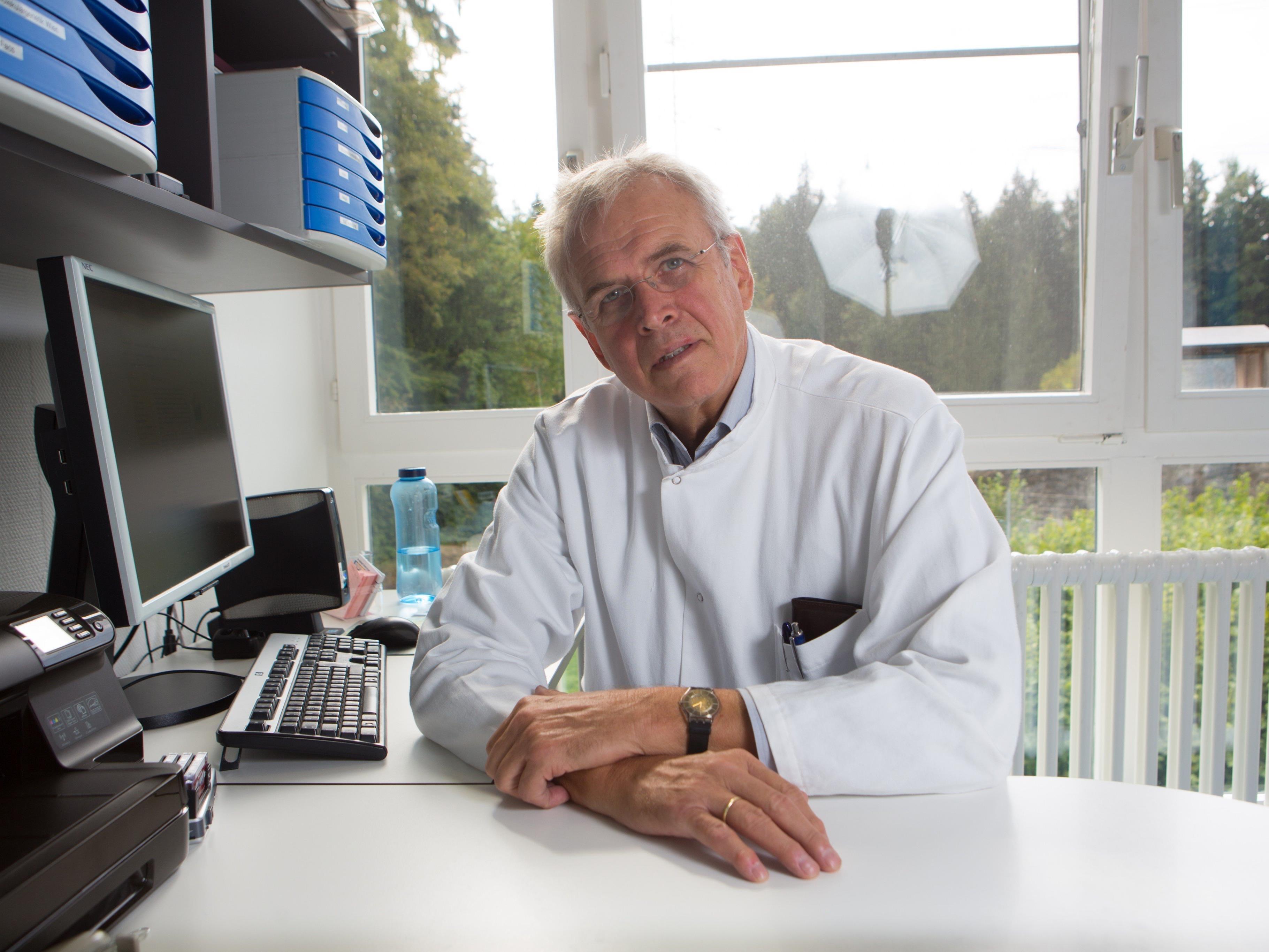 Onkologe Doktor Alois Lang.
