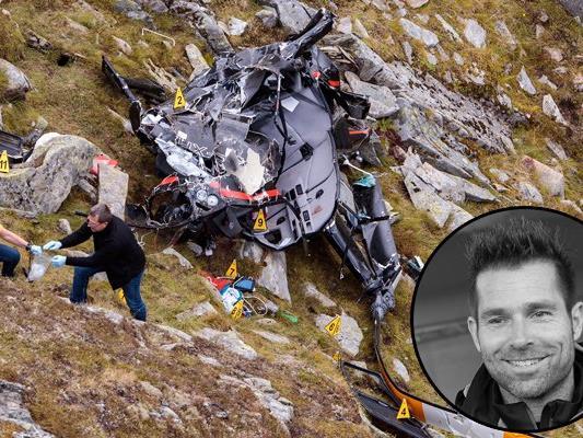 Kunstflugpilot Hannes Arch kam bei einem tragischen Hubschrauberabsturz ums Leben.