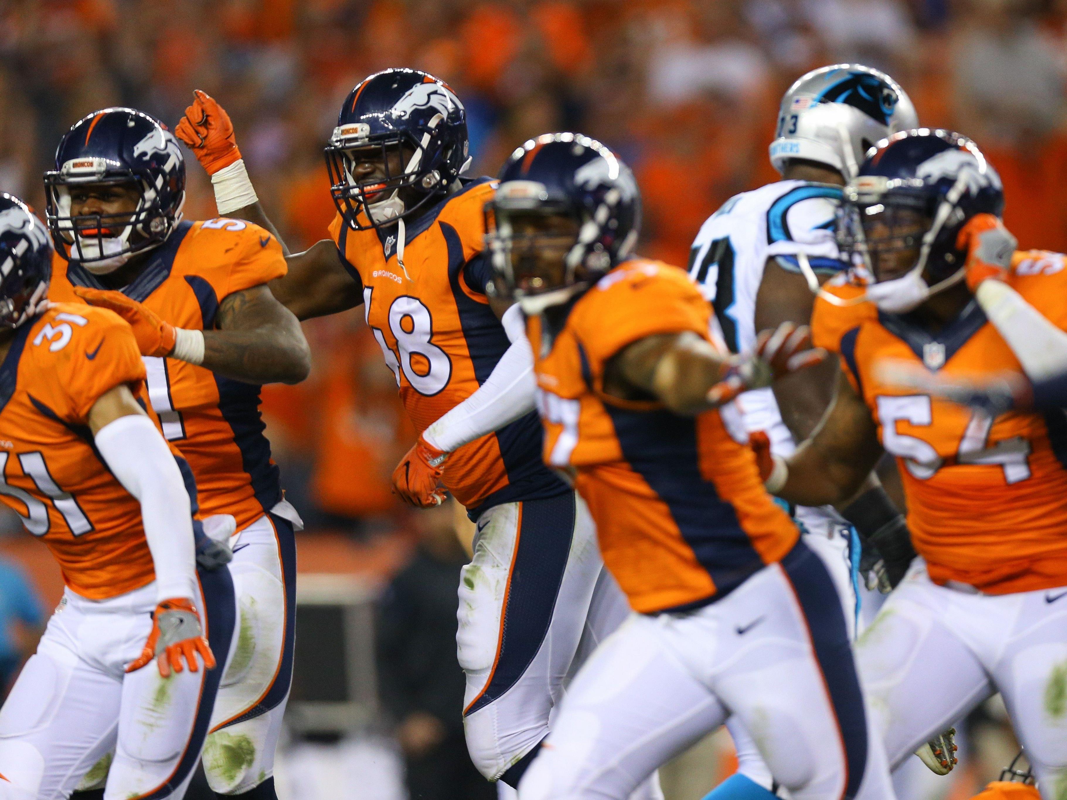 Die Denver Broncos haben sich wie schon im vergangenen Super-Bowl-Match gegen die Carolina Panthers durchgesetzt.
