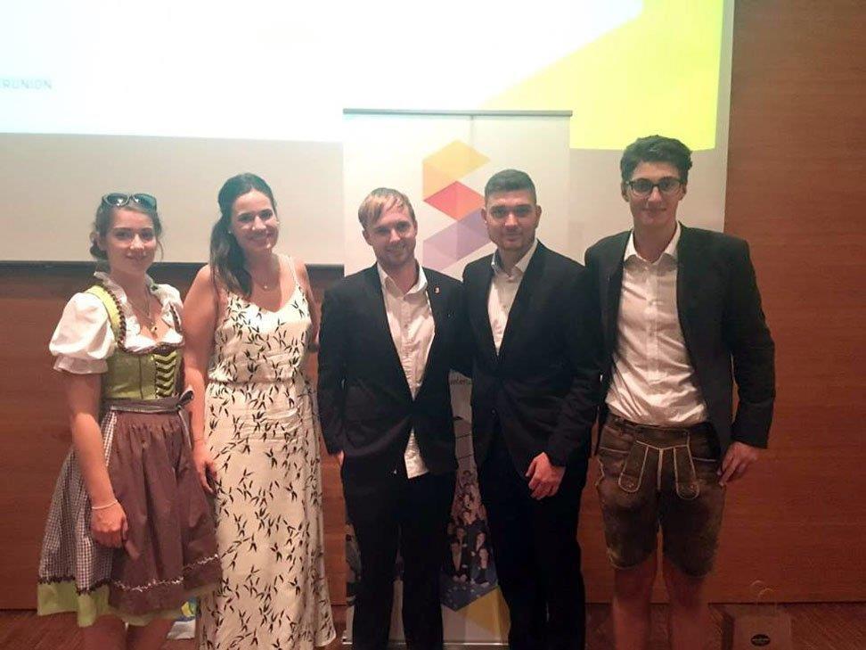 Vanessa Tabirca, Michaela Oppitz, Valentin Ledoldis, Aleksandar Marijanovic, Sebastian Ratz.