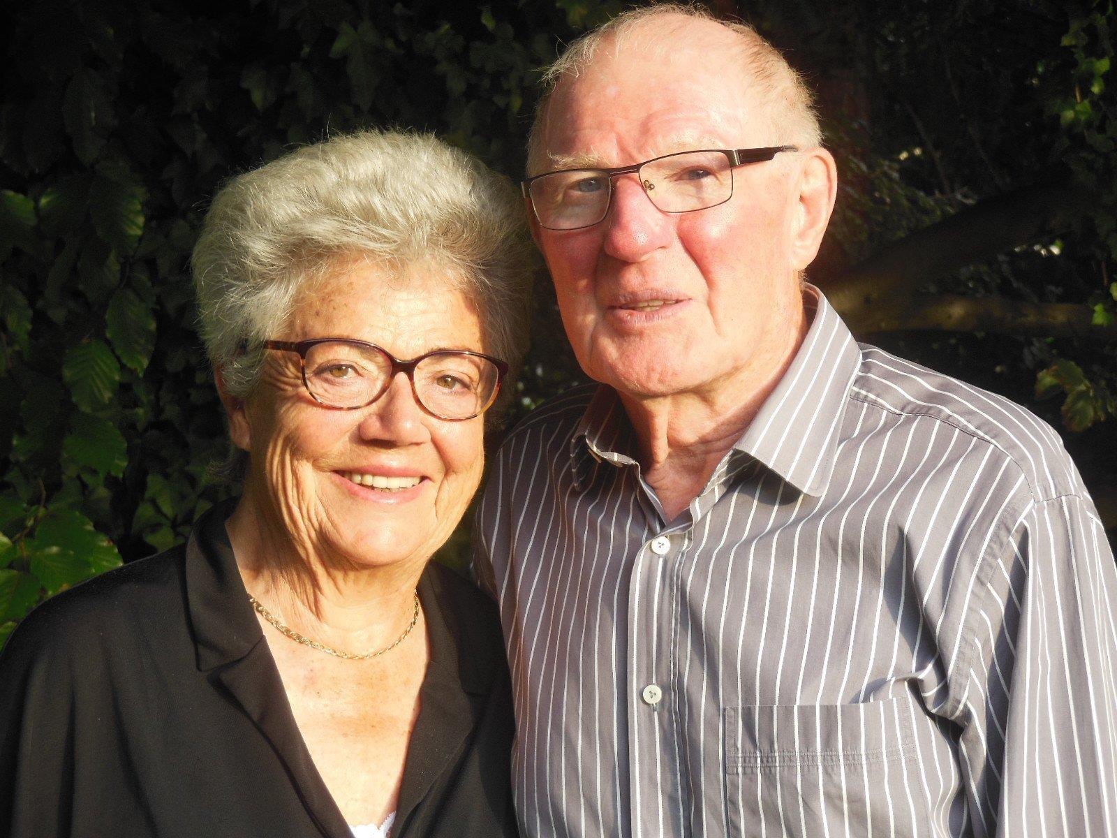 Die diamantene Hochzeit feierten Edith und Dr. Edwin Schöch im Gasthaus Mohren mit der Familie.