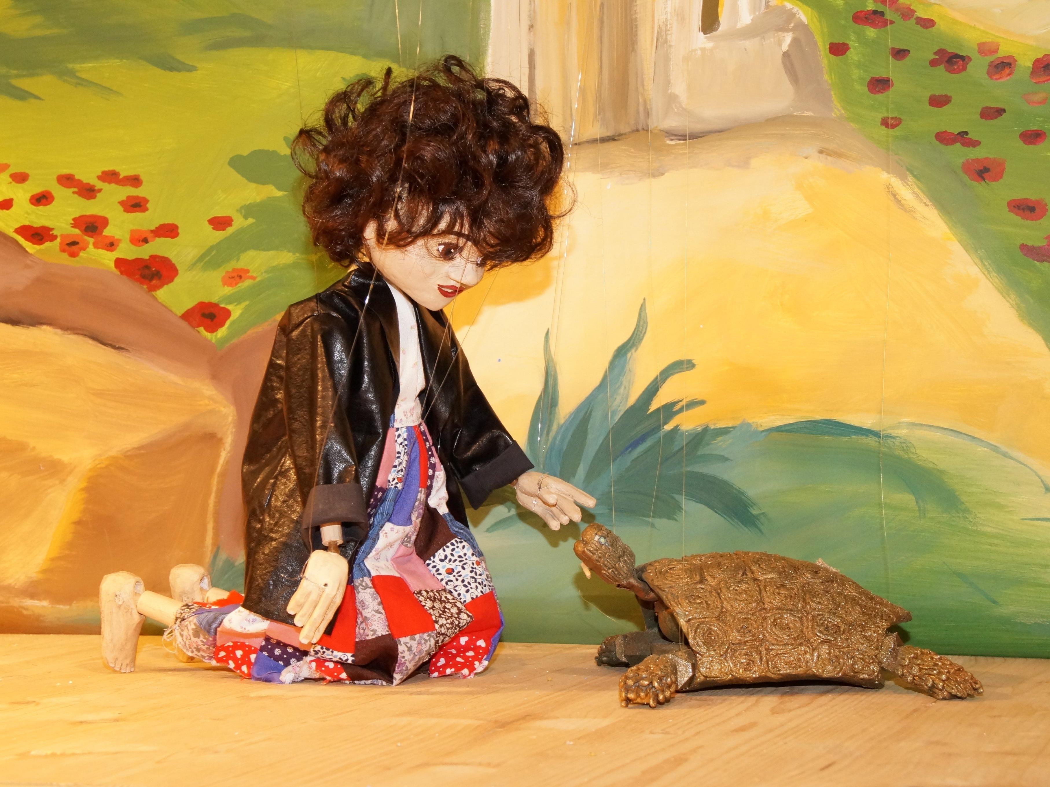 """""""Momo"""" und die Schildkröte """"Kassiopeia"""""""